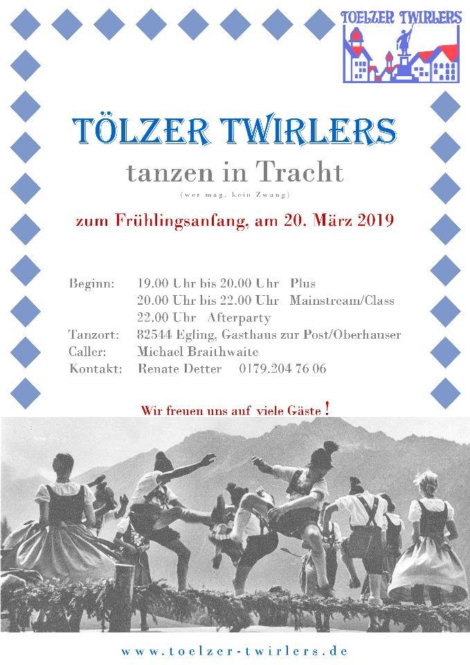 Plus/MS/Class Clubabend - Tölzer Twirlers tanzen in Tracht @ Gasthof zur Post / Oberhauser